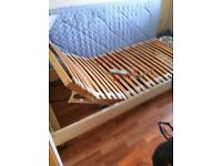 Electric adjustable single bed Free to collect