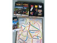 Ticket to Ride Marklin Board Game - Germany board