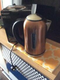 Copper, temperature controlled Kettle