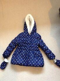 Girls coats aged 3-4