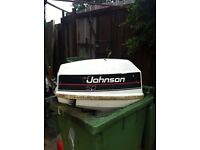 jhonson 50hp out board engine tilt and trim for boat