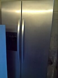 American fridge freezer water.ice dispenser..Ex.Display Mint