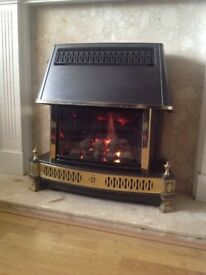 Gas Fire Potterton Mainflame live fuel effect