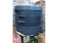 Wormer for composting kitchen waste