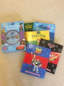 Disney Read Along Storybook With CD & 5 Books