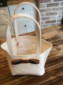 Ted Baker Small Tote Bag - Ivory