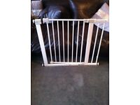 2x safety first baby gates with extentions