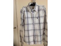 Abercrombie and Fitch boys checked shirt