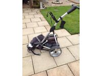 Pro Rider electric trolley all attachments included