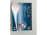ACCA study materials, BPP and Kaplan