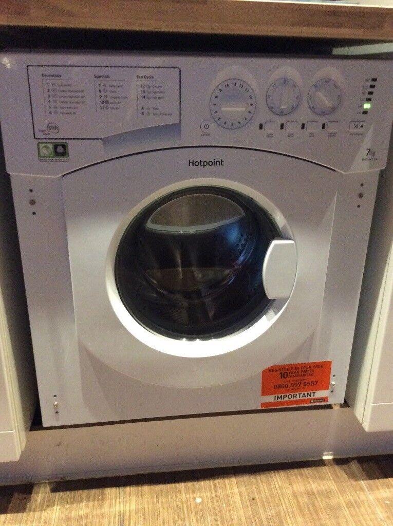 Almost brand new Integrated BHWM1292 Washing Machine