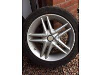 Smiths Alloy wheels x 4
