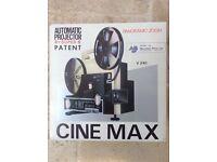 Cine-Max Automatic Film Projector - Retro/Vintage