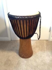 Professional African Djembe Drum (Full size & Double Strung)