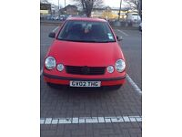 Volkswagen Polo Special Edition 1.2 9n - 1 Year MOT
