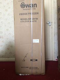 Swan FRIDGE-FREEZER New for sale
