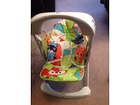Fisher price rainforest friends swing and seat - from birth - as new