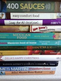 Large collection of Cookbook