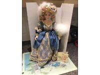 Victorian Collection Porcelain Doll (Grace)