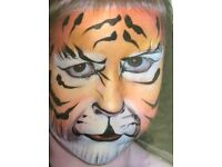 Professional face painter for events, parties, fetes, weddings. Over 10 years experience CRB checked