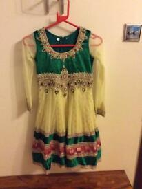 Girls anarkali dress size 26