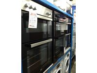 Double oven new graded 12 months gtee £230