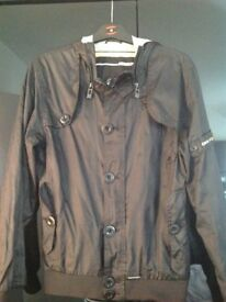 Mans small new police jacket size small