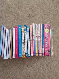 Collection of girls books