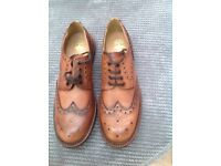 Men's brogues shoes size 12 worn once