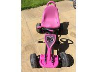 Hello Kitty Pink Go Kart