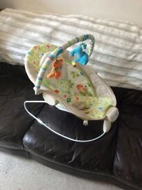 Cozy baby bouncer