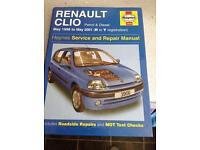 Renault Clio Haynes manual