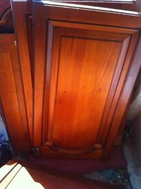 Solid timber kitchen doors/drawers