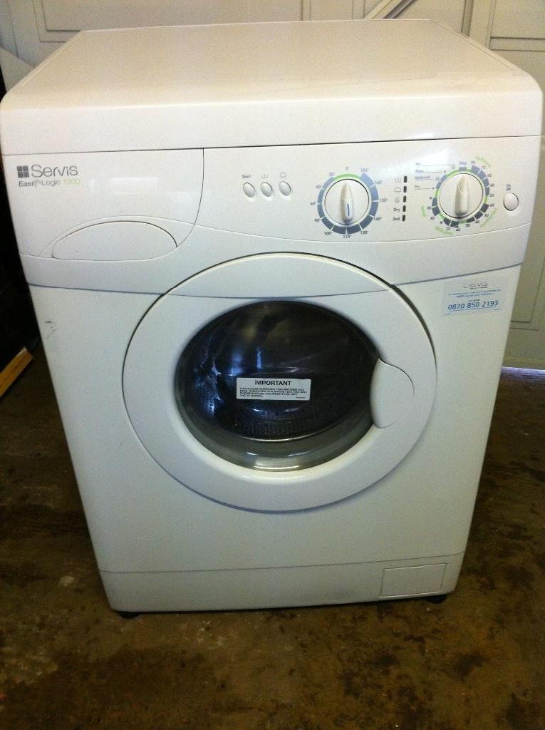 Servis easi logic 1300 washing machine