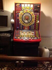 Bandit game machine
