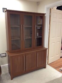 2 Display Units with matching TV stand and FREE delivery- all in superb condition