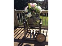 Butter churn ideal for rustic Wedding