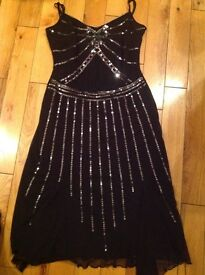 Brand New with Tags Ladies Black Oasis Party Dress Size 14