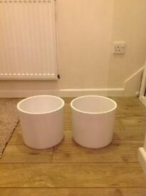 B&Q house pots