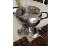 Fondue set and Chocolate Moulds brand new