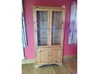 Ducal antique pine cabinet (delivery available)