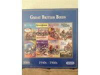 BRAND NEW - 1000 Piece Great British Bikes