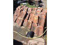 Roof Tiles - Reclaimed Clay Pantiles