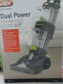 Vax Dual Power Pro Advance carpet cleaner, brand new in box