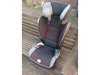 Britax children's car seat, used condition.