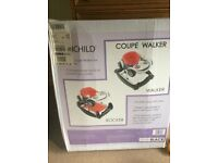 2 in 1 Coupe baby walker / bouncer. Brand new in box