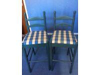 Bar Stools - Star Buy at £30 for the pair