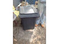 Free wood storage bin