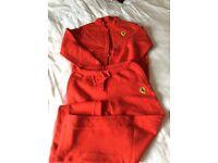 Ferrari track suit set