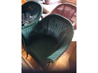 Lloyd loom chairs 3 available